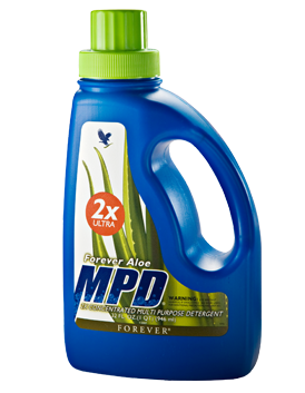 Aloe MPD 2X Ultra is a multi-purpose detergent that's just as good for washing clothes at it is for cleaning floors, bathrooms, tiles and dishes.