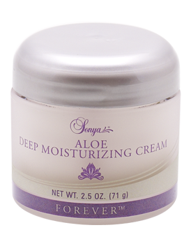 Sonya Aloe Deep Moisturizing Cream is for skin that needs some extra care, day and night.